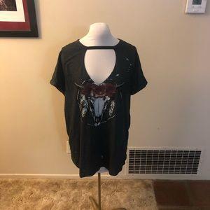 Torrid dark grey T-shirt